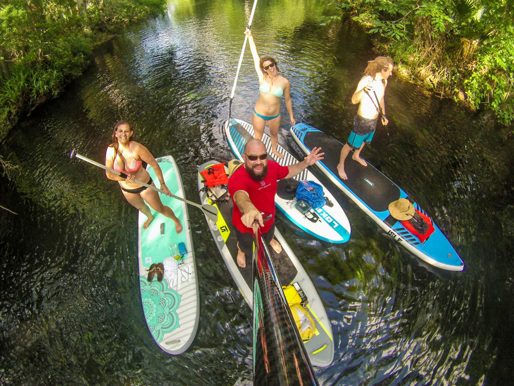 Paddle boarding At Wekiva