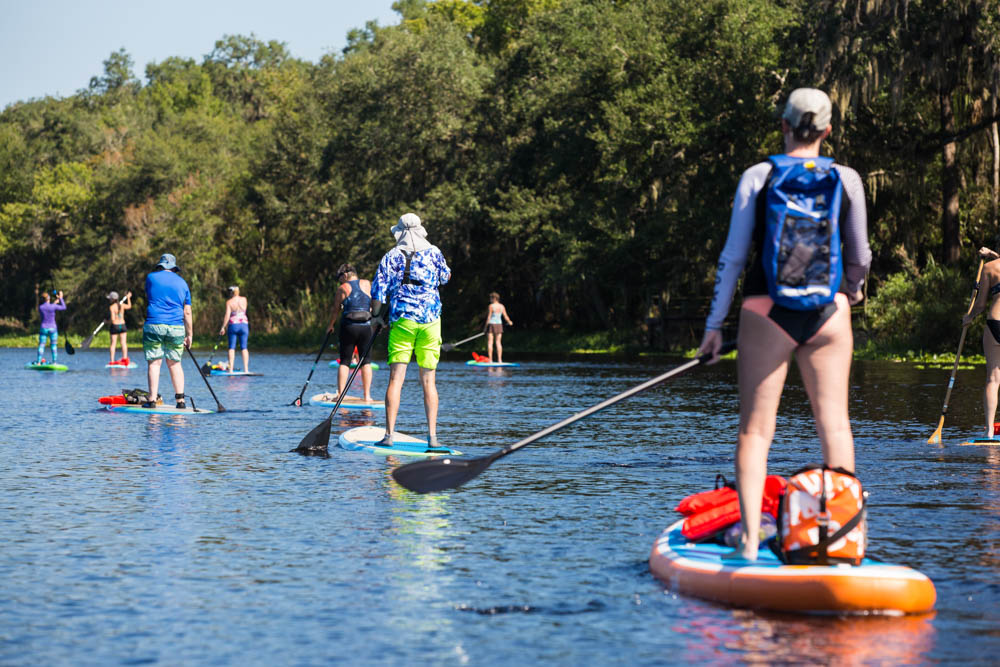 Paddling on the St Johns River