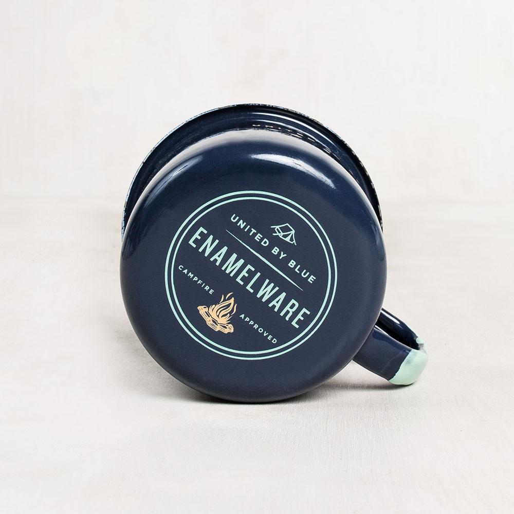 12 oz  Enamel Steel Mug