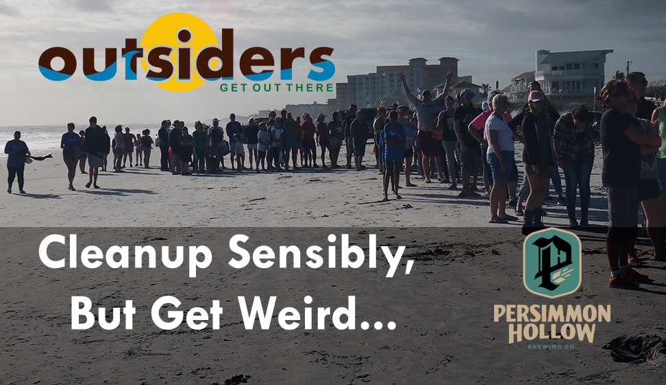 Outsiders USA Beach Cleanup