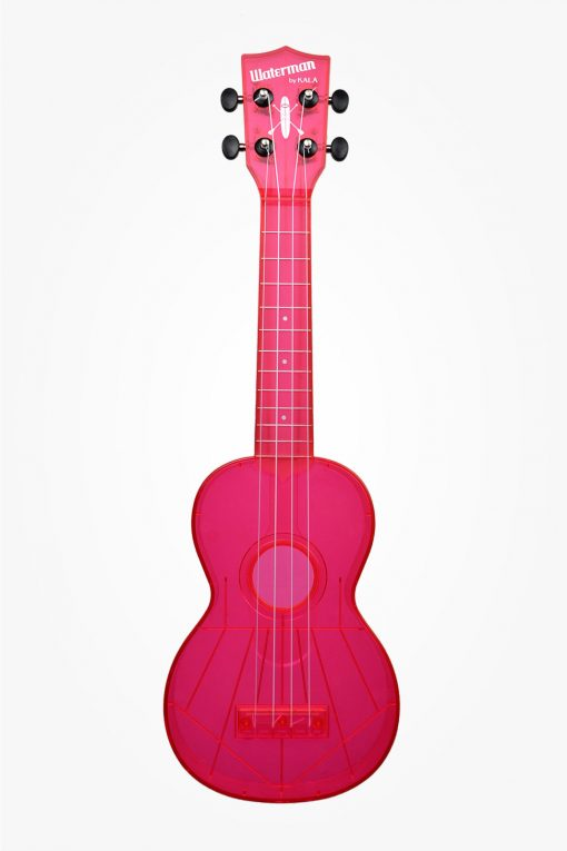 Kala Waterman Ukulele Tomato Red Matte