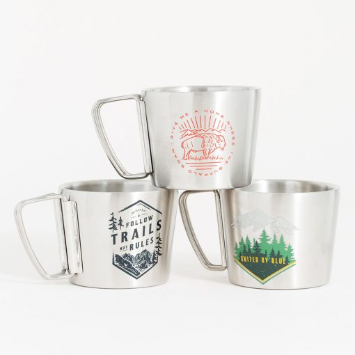 United By Blue Insulated Steel Mugs