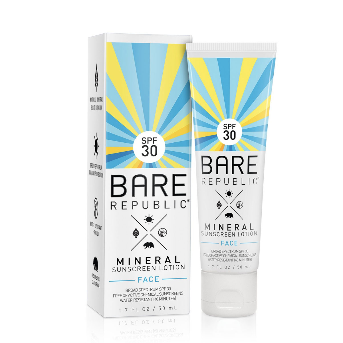 Bare Republic Mineral Face Sunscreen SPF 50