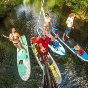 Paddling at Wekiva Springs State Park with Outsiders USA