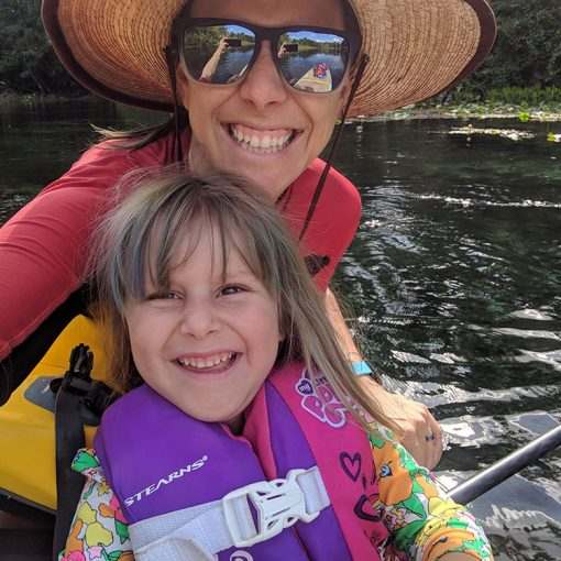 Alexander Springs Paddle Boarding with Outsiders