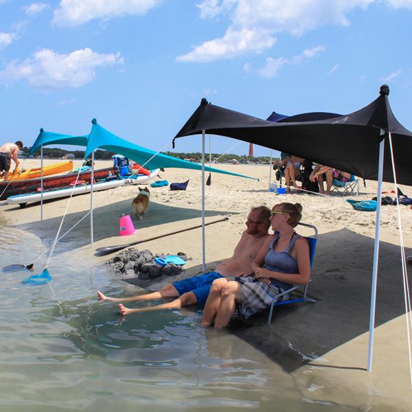 Otentik Sunshade beach tent sun umbrella by Outsiders USA