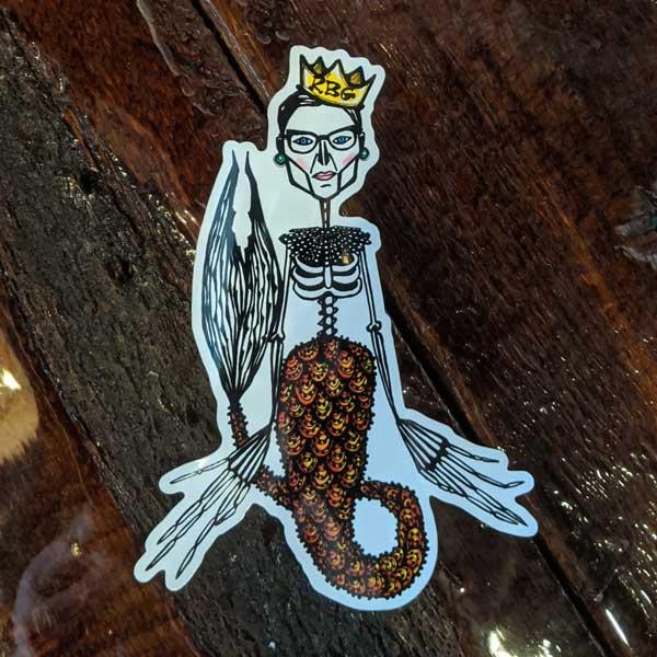 Ruth Bader Ginsburg Migdalia Pace Sticker
