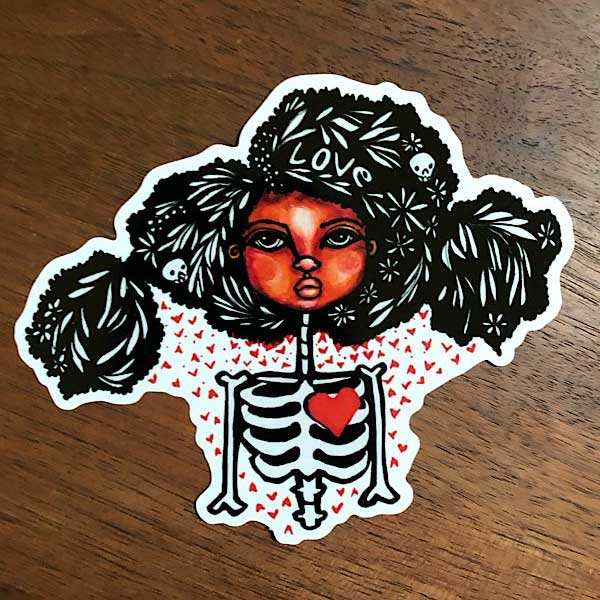 Representation Matters Sticker by Migdalia Pace