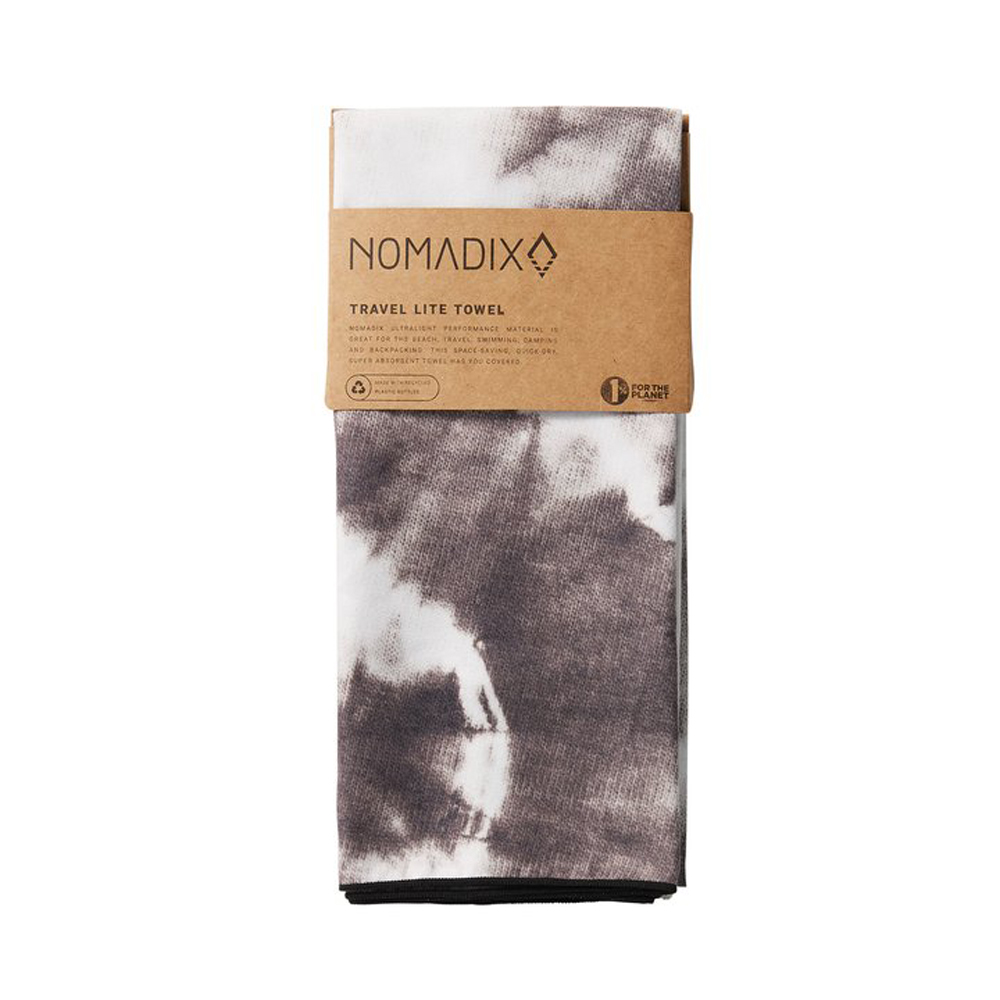 Nomadix Ultra Light Travel Towel Tie Dye Black