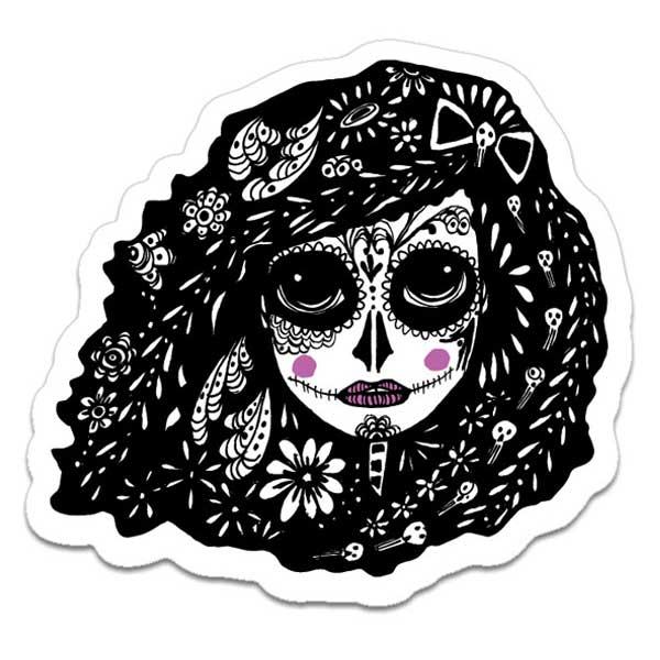 Reza Sticker by Migdalia Pace