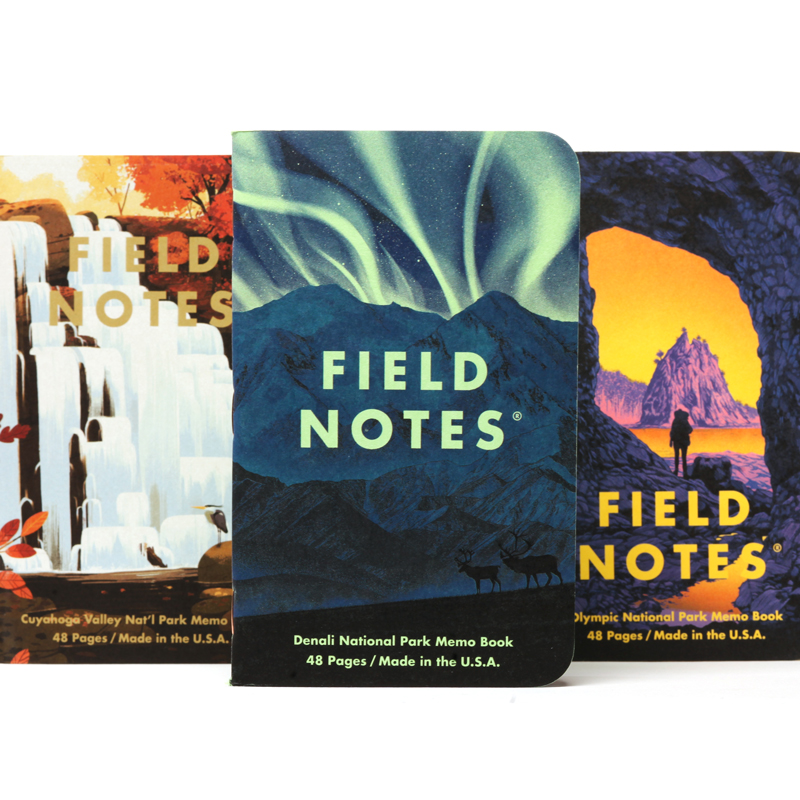 Field Notes Memo Book National Parks